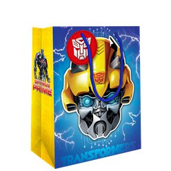 Transformers Medium Gift Bag with Detachable Mask