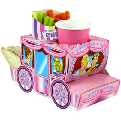 Cinderella Coach Combi Food Tray - 24cm long