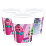 Trolls Plastic Party Cups - 200ml