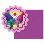 Trolls Invites - Party Invitation Cards