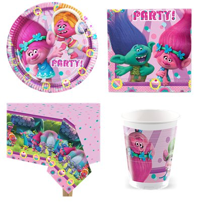 Trolls Party Pack - Value Pack for 8
