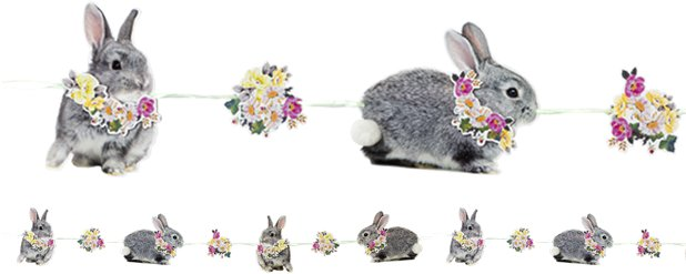 Truly Bunny Bunting - 3m