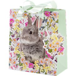 Easter gift bags party delights small truly bunny gift bag 16cm negle Images