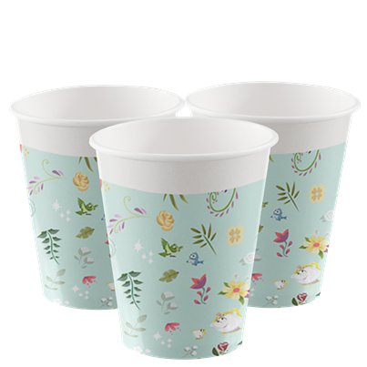 Disney True Princess Paper Cups - 200ml