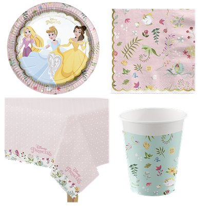 Disney True Princess Party Pack - Value Pack For 8