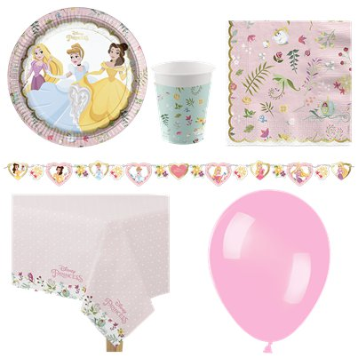 Disney True Princess Party Pack - Deluxe Pack For 8