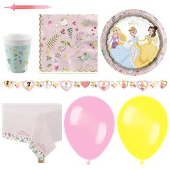 Disney True Princess Party Pack - Deluxe Pack For 16