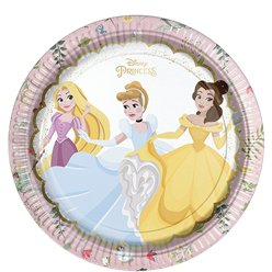 Disney True Princess Paper Plates - 23cm