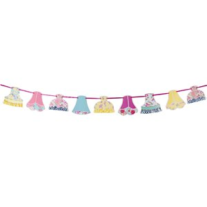 Vintage Tea Party Lampshade Bunting - 4m