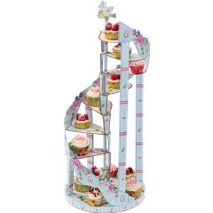 Truly Scrumptious Vintage Spiral Cake Stand - 9 Tier