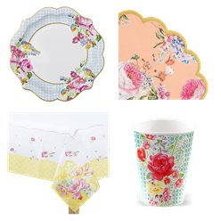 Vintage Tea Party Pack - Value Pack For 12