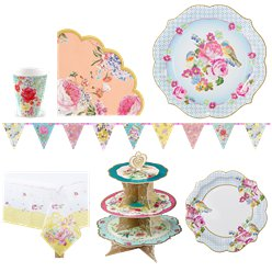 Vintage Tea Party Pack - Super Deluxe Pack for 12