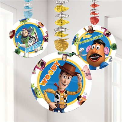 Toy Story 3 Hanging Cutout Decoration
