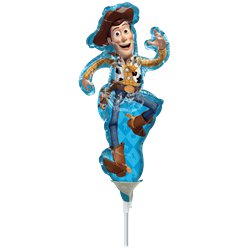 "Woody Mini Balloon - 9"" Aifill"
