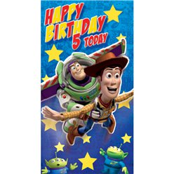 Toy Story Age 5 Birthday Card