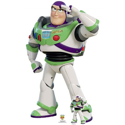 Buzz Lightyear Cardboard Cutout - 1.29m