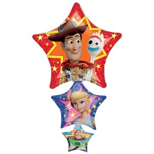 Toy Story 4 SuperShape Star Balloon