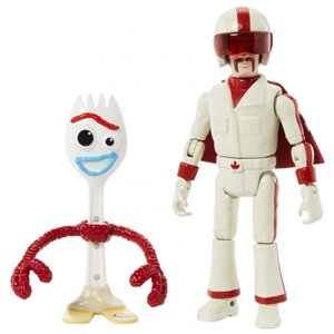 Toy Story 4 7in Forky & Duke Caboom