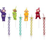 Teletubbies Pick Candles - 5cm