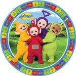 Teletubbies Dessert Plates - 18cm Paper Party Plates