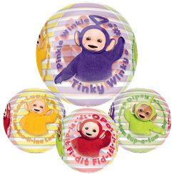 "Teletubbies Orbz Balloon - 16""-18"" Foil"