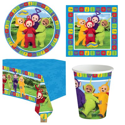 Teletubbies Party Pack - Value Pack for 8
