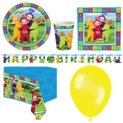 Teletubbies Party Pack - Deluxe Pack for 8