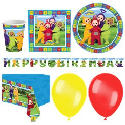Teletubbies Party Pack - Deluxe Pack for 16