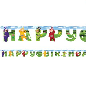 Teletubbies Add An Age Letter Banner - 1.7m