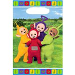 Teletubbies Party Bags - Plastic Loot Bags