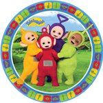 Teletubbies Plates - 23cm Paper Party Plates