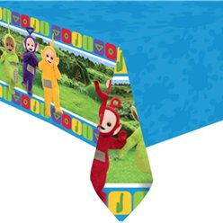 Teletubbies Plastic Tablecover - 1.2m x 1.8m