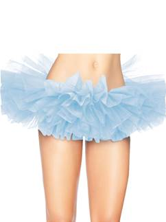 Deluxe Light Blue Organza Tutu