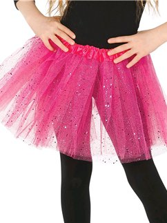 Pink Glitter Tutu - Child One Size