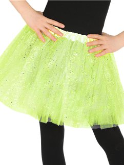 Green Glitter Tutu - Child One Size