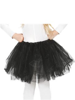 Child Tutu Black - One Size