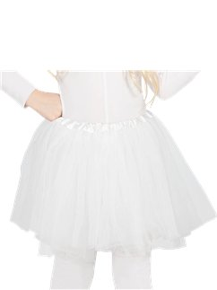 White Tutu - Child One Size