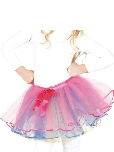 Pink Bow Tutu - Child One Size