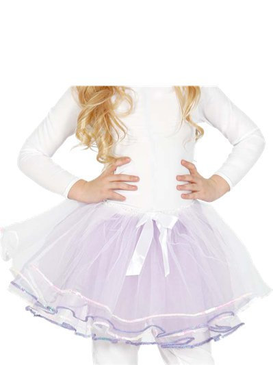 White Bow Tutu - Child One Size