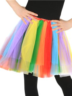 Rainbow Tutu - Child One Size