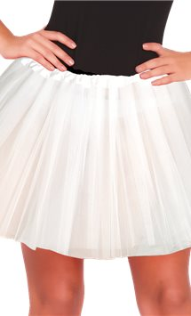 White Tutu - Adult One Size