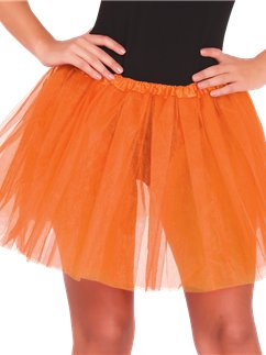 Orange Tutu - Adult One Size