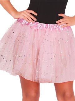 Baby Pink Glitter Tutu - Adult One Size
