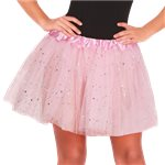 Light Pink Glitter Tutu - Adult One Size
