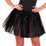 Black Glitter Tutu - Adult One Size