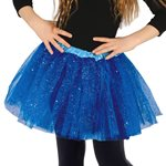 Blue Glitter Tutu - Child One Size