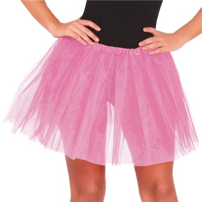 Light Pink Tutu - Ladies Fancy Dress Accessory front