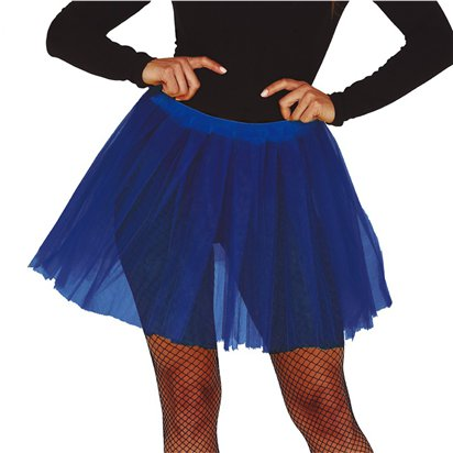 Blue Tutu - Ladies Fancy Dress Accessory front