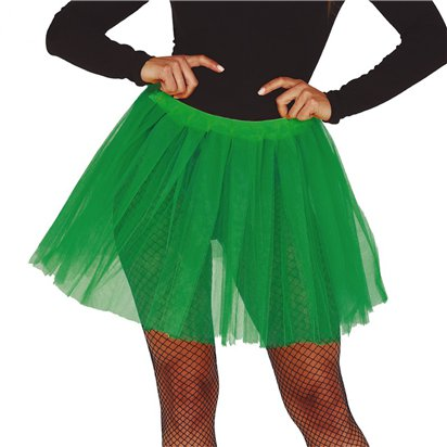 Green Tutu - Ladies Fancy Dress Accessory front