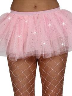 Adult Pink Sequin Tu-tu
